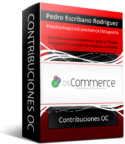 Installation Contributions osCommerce