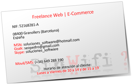 Freelance Web | E-Commerce